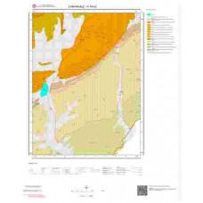 H16b3 Paftası 1/25.000 Ölçekli Vektör Jeoloji Haritası