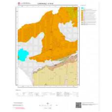 H16b4 Paftası 1/25.000 Ölçekli Vektör Jeoloji Haritası