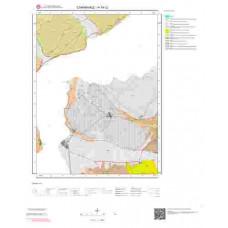 H16c2 Paftası 1/25.000 Ölçekli Vektör Jeoloji Haritası