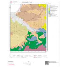H16c3 Paftası 1/25.000 Ölçekli Vektör Jeoloji Haritası