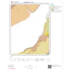 H16c4 Paftası 1/25.000 Ölçekli Vektör Jeoloji Haritası