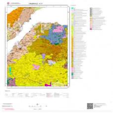 H17 Paftası 1/100.000 Ölçekli Vektör Jeoloji Haritası