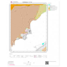 H17a2 Paftası 1/25.000 Ölçekli Vektör Jeoloji Haritası