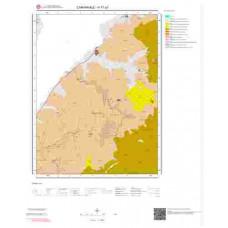 H17a3 Paftası 1/25.000 Ölçekli Vektör Jeoloji Haritası