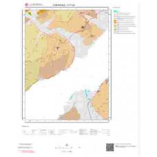 H17a4 Paftası 1/25.000 Ölçekli Vektör Jeoloji Haritası