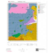 H17b3 Paftası 1/25.000 Ölçekli Vektör Jeoloji Haritası