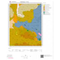 H17b4 Paftası 1/25.000 Ölçekli Vektör Jeoloji Haritası