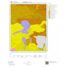 H17c1 Paftası 1/25.000 Ölçekli Vektör Jeoloji Haritası