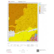 H17c2 Paftası 1/25.000 Ölçekli Vektör Jeoloji Haritası