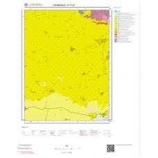 H17c3 Paftası 1/25.000 Ölçekli Vektör Jeoloji Haritası