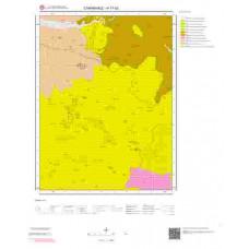 H17d2 Paftası 1/25.000 Ölçekli Vektör Jeoloji Haritası