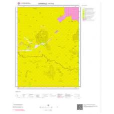 H17d3 Paftası 1/25.000 Ölçekli Vektör Jeoloji Haritası