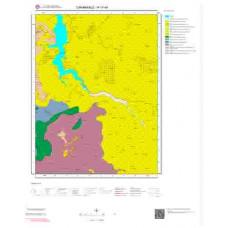 H17d4 Paftası 1/25.000 Ölçekli Vektör Jeoloji Haritası