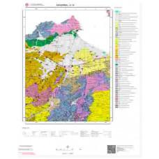 H18 Paftası 1/100.000 Ölçekli Vektör Jeoloji Haritası