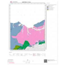 H18a2 Paftası 1/25.000 Ölçekli Vektör Jeoloji Haritası