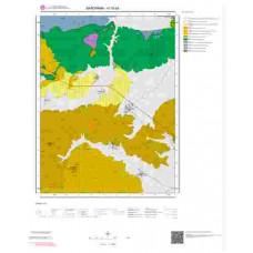 H18a4 Paftası 1/25.000 Ölçekli Vektör Jeoloji Haritası