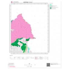 H18b1 Paftası 1/25.000 Ölçekli Vektör Jeoloji Haritası
