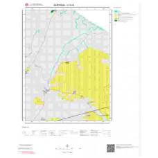 H18b4 Paftası 1/25.000 Ölçekli Vektör Jeoloji Haritası