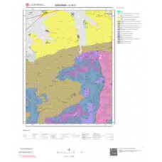 H18c1 Paftası 1/25.000 Ölçekli Vektör Jeoloji Haritası