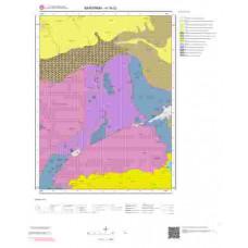 H18c2 Paftası 1/25.000 Ölçekli Vektör Jeoloji Haritası