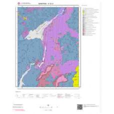 H18c4 Paftası 1/25.000 Ölçekli Vektör Jeoloji Haritası