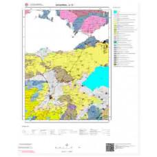 H19 Paftası 1/100.000 Ölçekli Vektör Jeoloji Haritası