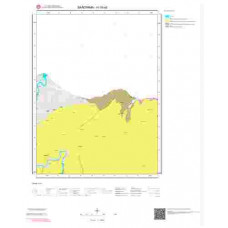 H19a3 Paftası 1/25.000 Ölçekli Vektör Jeoloji Haritası