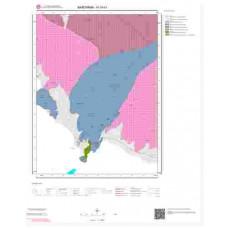 H19b1 Paftası 1/25.000 Ölçekli Vektör Jeoloji Haritası