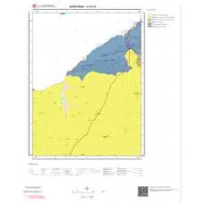 H19b4 Paftası 1/25.000 Ölçekli Vektör Jeoloji Haritası