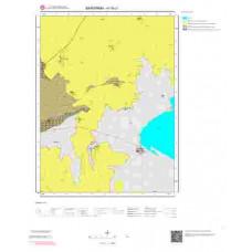 H19c1 Paftası 1/25.000 Ölçekli Vektör Jeoloji Haritası