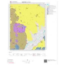 H19c4 Paftası 1/25.000 Ölçekli Vektör Jeoloji Haritası