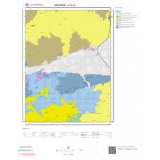 H19d1 Paftası 1/25.000 Ölçekli Vektör Jeoloji Haritası