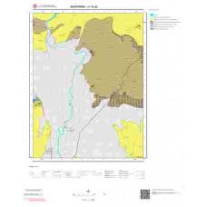 H19d2 Paftası 1/25.000 Ölçekli Vektör Jeoloji Haritası