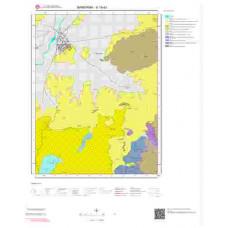 H19d3 Paftası 1/25.000 Ölçekli Vektör Jeoloji Haritası