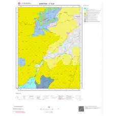 H19d4 Paftası 1/25.000 Ölçekli Vektör Jeoloji Haritası