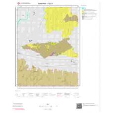 H20c4 Paftası 1/25.000 Ölçekli Vektör Jeoloji Haritası