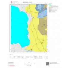 H20d1 Paftası 1/25.000 Ölçekli Vektör Jeoloji Haritası