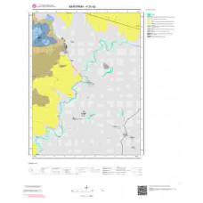 H20d2 Paftası 1/25.000 Ölçekli Vektör Jeoloji Haritası