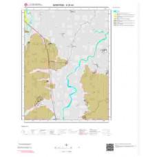 H20d3 Paftası 1/25.000 Ölçekli Vektör Jeoloji Haritası