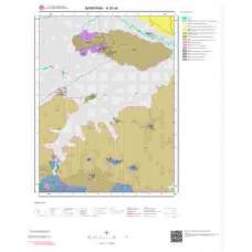 H20d4 Paftası 1/25.000 Ölçekli Vektör Jeoloji Haritası