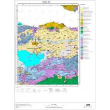 H21 Paftası 1/100.000 Ölçekli Vektör Jeoloji Haritası