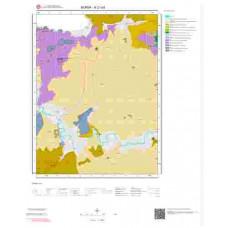H21a3 Paftası 1/25.000 Ölçekli Vektör Jeoloji Haritası