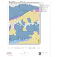 H21a4 Paftası 1/25.000 Ölçekli Vektör Jeoloji Haritası