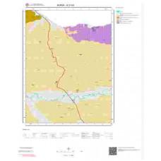 H21b3 Paftası 1/25.000 Ölçekli Vektör Jeoloji Haritası