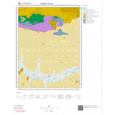 H21b4 Paftası 1/25.000 Ölçekli Vektör Jeoloji Haritası