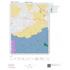H21c2 Paftası 1/25.000 Ölçekli Vektör Jeoloji Haritası