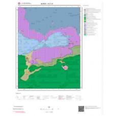 H21c3 Paftası 1/25.000 Ölçekli Vektör Jeoloji Haritası