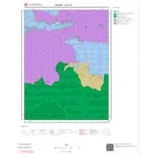 H21c4 Paftası 1/25.000 Ölçekli Vektör Jeoloji Haritası