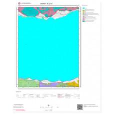 H23a1 Paftası 1/25.000 Ölçekli Vektör Jeoloji Haritası