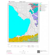 H23a2 Paftası 1/25.000 Ölçekli Vektör Jeoloji Haritası